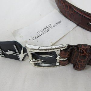 Polo by Ralph Lauren Accessories - Polo Ralph Lauren Mens Crocodile Italian Leather